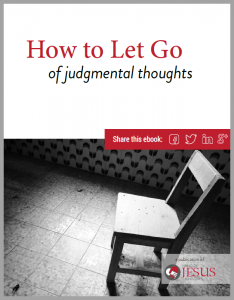 How to Let Go Of Judgmental Thoughts