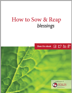 How to Sow & Reap Blessings